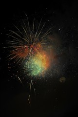 Fireworks, Chicago, Illinois, United States of America
