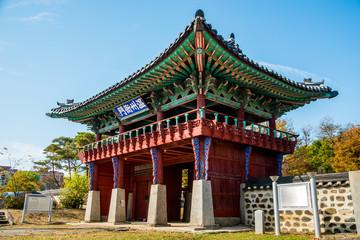 Onjuamun gate of Asan City in Chungnam.