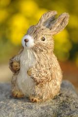Easter bunny figure