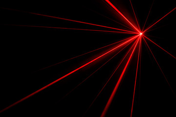 Laser beam light effect