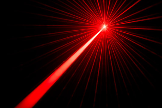 Laser beam light effect