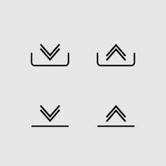 Download and upload vector design