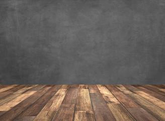 blackboard with wooden underground