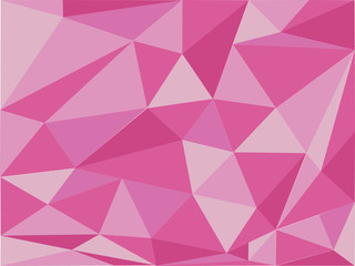Background design with pink triangles