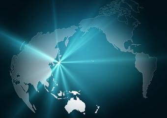 世界地図/地球