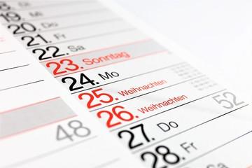 An image of a christmas calendar