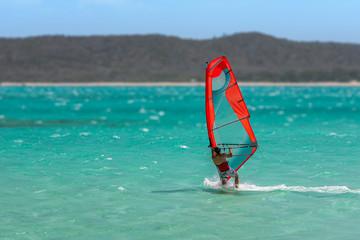 Men's windsurfer