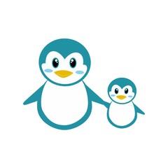 penguins logo vector
