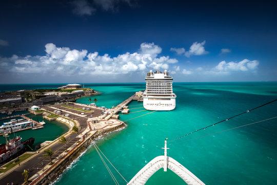 At Port Of Bermuda
