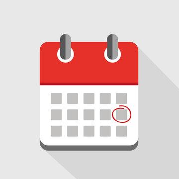 termin im roten kalender einkreisen
