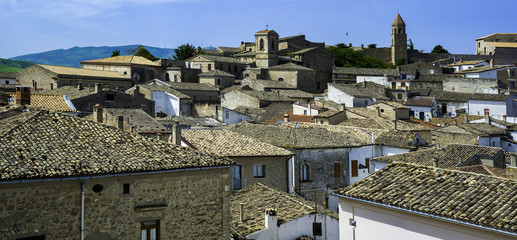 Bovino one of the most beautiful villages in Italy. Puglia - Italy