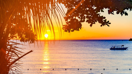 Negril, Jamaica Sunset
