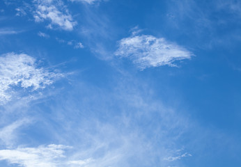 blue cloud on sunny day