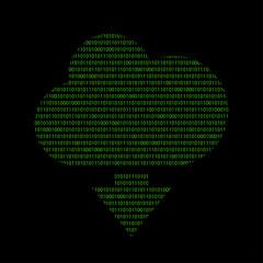Hacker - 101011010 Icon - Wolke herunterladen