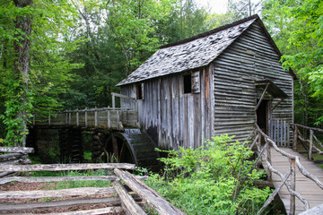 Cades Cove Grist Mill, Tennessee