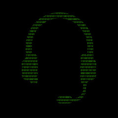 Hacker - 101011010 Icon - Headset - Kundenservice