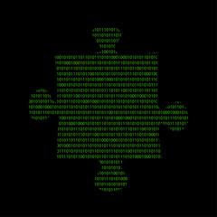 Hacker - 101011010 Icon - Puzzle