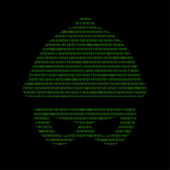 Hacker - 101011010 Icon - Verbrecher