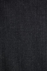 Black Woven Textile Fabric Swatch