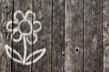 Wall Mural - flower