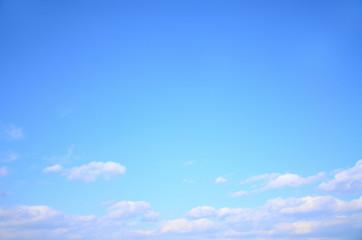 さわやかな青空