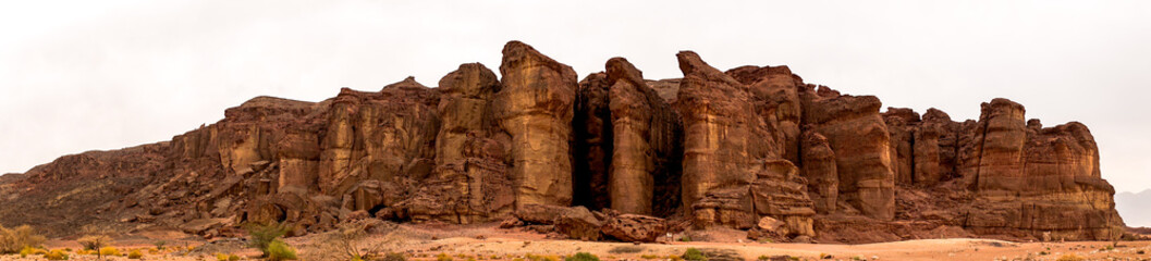 Solomon's Pillars in Timna Park near Eilat, Israel