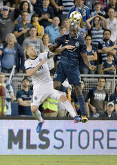 MLS: Vancouver Whitecaps FC at Sporting KC