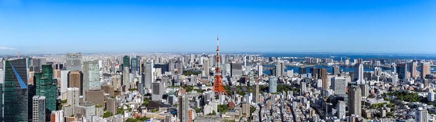東京の都市風景 日中