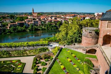 Les jardins du Musée Toulouse-Lautrec à Albi