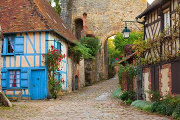 Gerberoy, village de l'Oise, Hauts-de-France, France