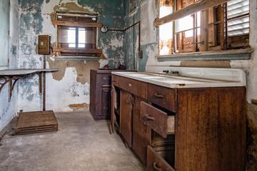 ellis island abandoned psychiatric hospital interior rooms