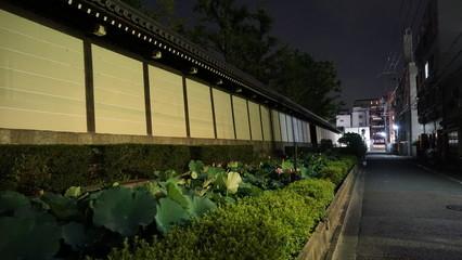 東本願寺を取り囲む堀