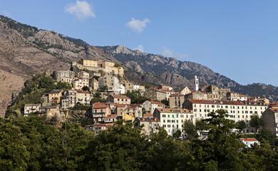 city of Corte Corsica
