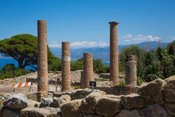 Tindari (Sicily, Italy) - Tindari (Sicily, Italy) - Archaeological area of Tindari, the ancient greek polis founded in 396 BC by Dionysius of Syracuse.