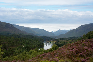 Loch Affric looking towards the West Coast