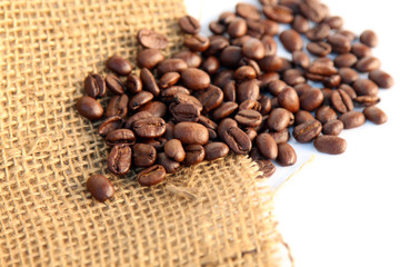 Roasted Coffee Selective Focus