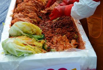 Kimchi in Seoul Korea