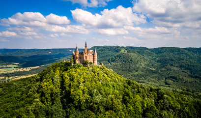 Aluminium Prints Castle Hohenzollern Castle, Germany.