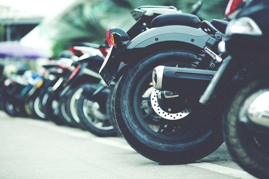 Motorcycle parking
