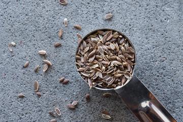 A teaspoon of dill seeds