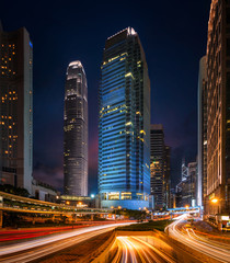 Fototapete - Cityscape of Building in Hong Kong