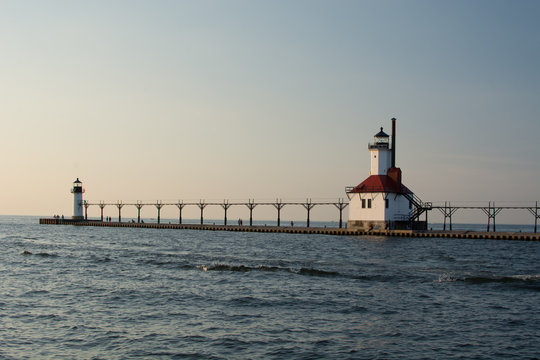 St Joseph Pier Lighthouse Michigan