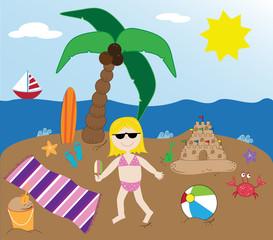 Summer Beach Time