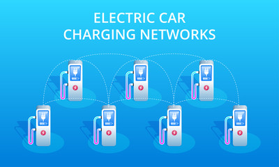 Electric Car Charging Networks