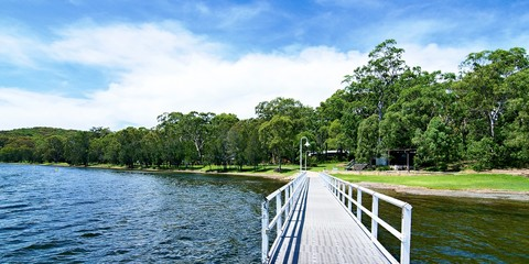 Waterfront Park and Lake Jetty