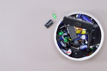 can with electronic tools