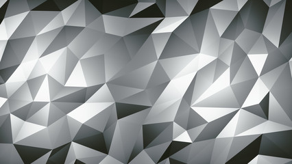 Abstract Pattern Of a Geometric Mosaic, Polygonal Structure