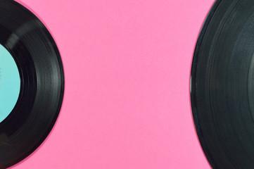 two vinyl discs