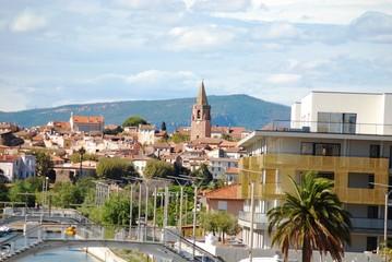 Plage et port de Fréjus