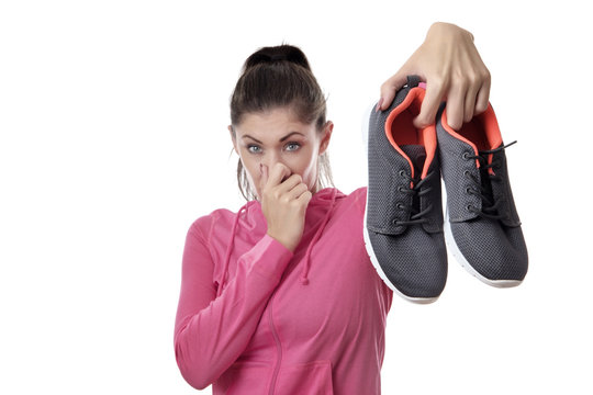 smelly  workout shoes